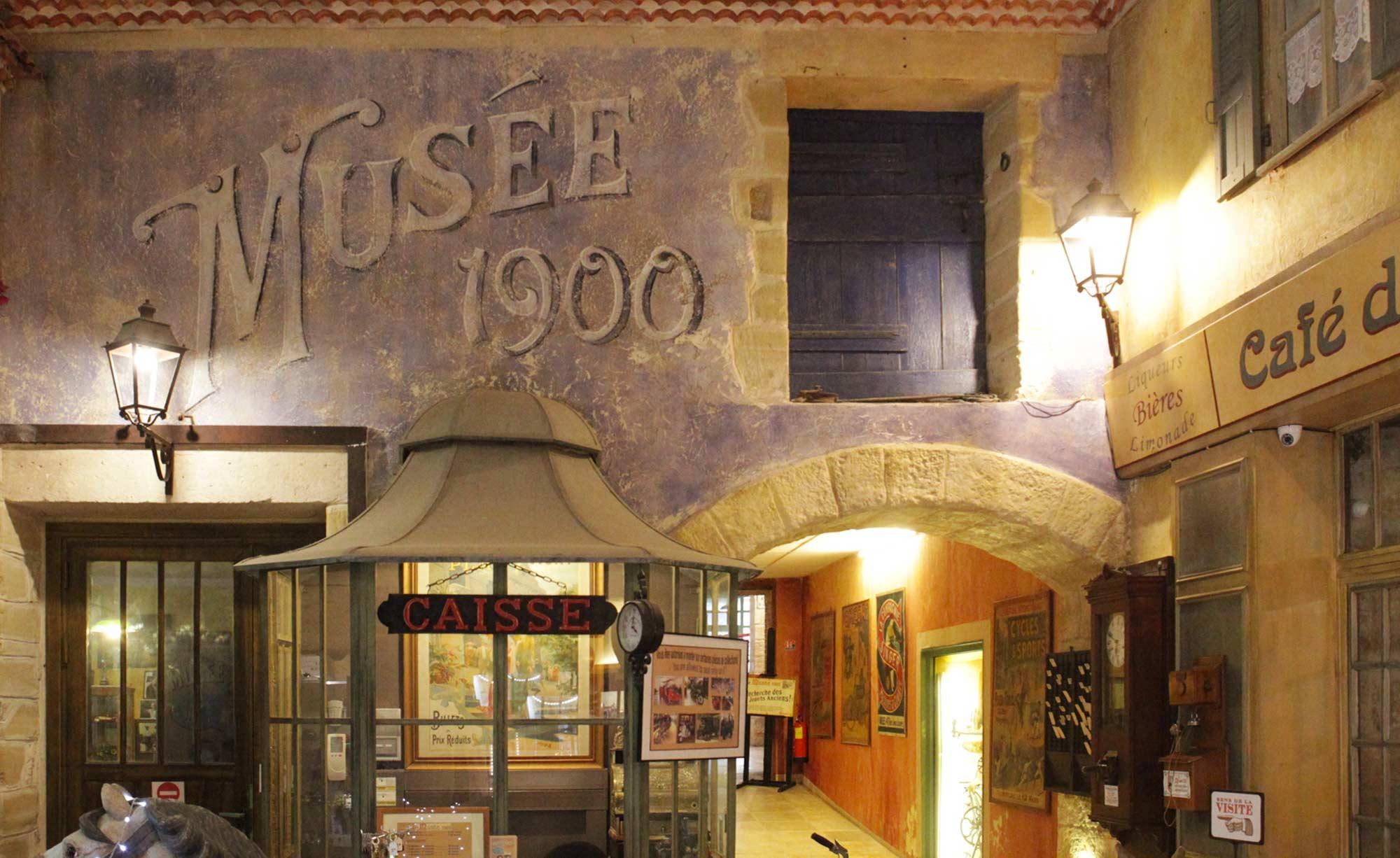 Musée 1900 - plus de 3000 pièces de collection dans le Gard